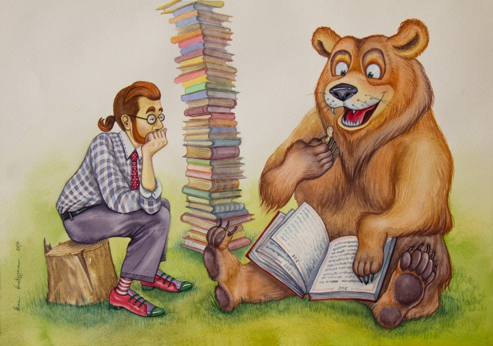 The Bear that Enjoyed Reading